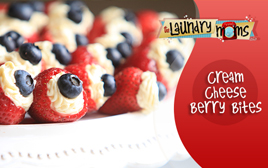 Cream Cheese Berry Bites