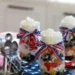 Trim Healthy Mama Fourth of July Shortcake