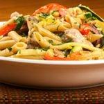 Zucchini Bruschetta Pasta