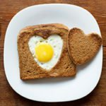 Life's Like Lovey Dovey Egg Toast