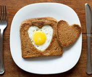 Life's Like Lovey Dovey Egg Toast