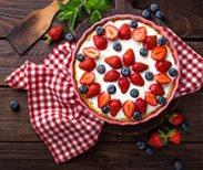 4th Of July Lemon Berry Pie