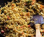 Spinach Cauli Rice