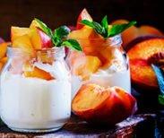 Just Peachy Yogurt