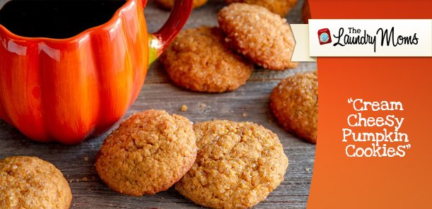 Cream Cheesy Pumpkin Cookies