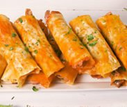 Tasty Chicken Taquitos