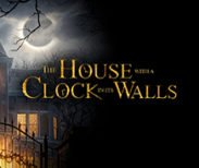 house with the clock in its walls